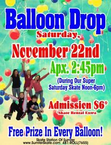Balloon Drop NOV 2014