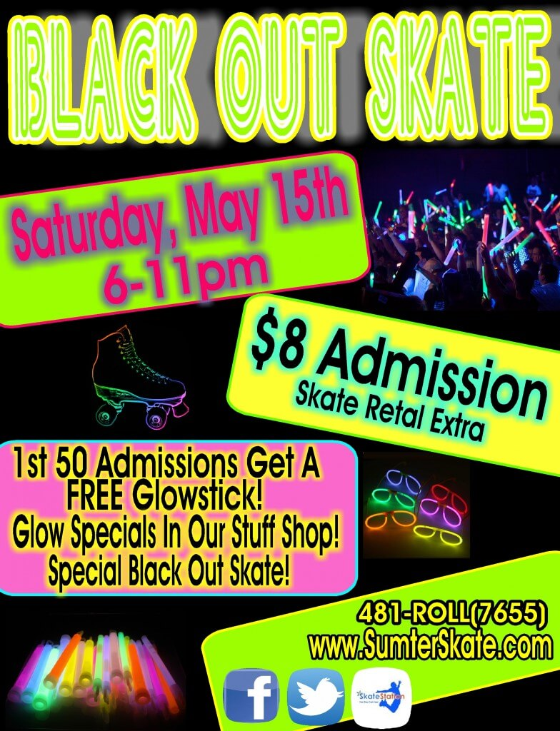 Black out skate May 2015