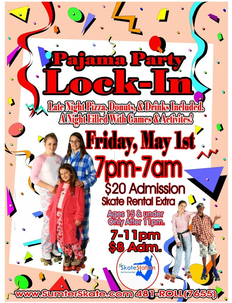 pj party Lock In Flyer May 2015