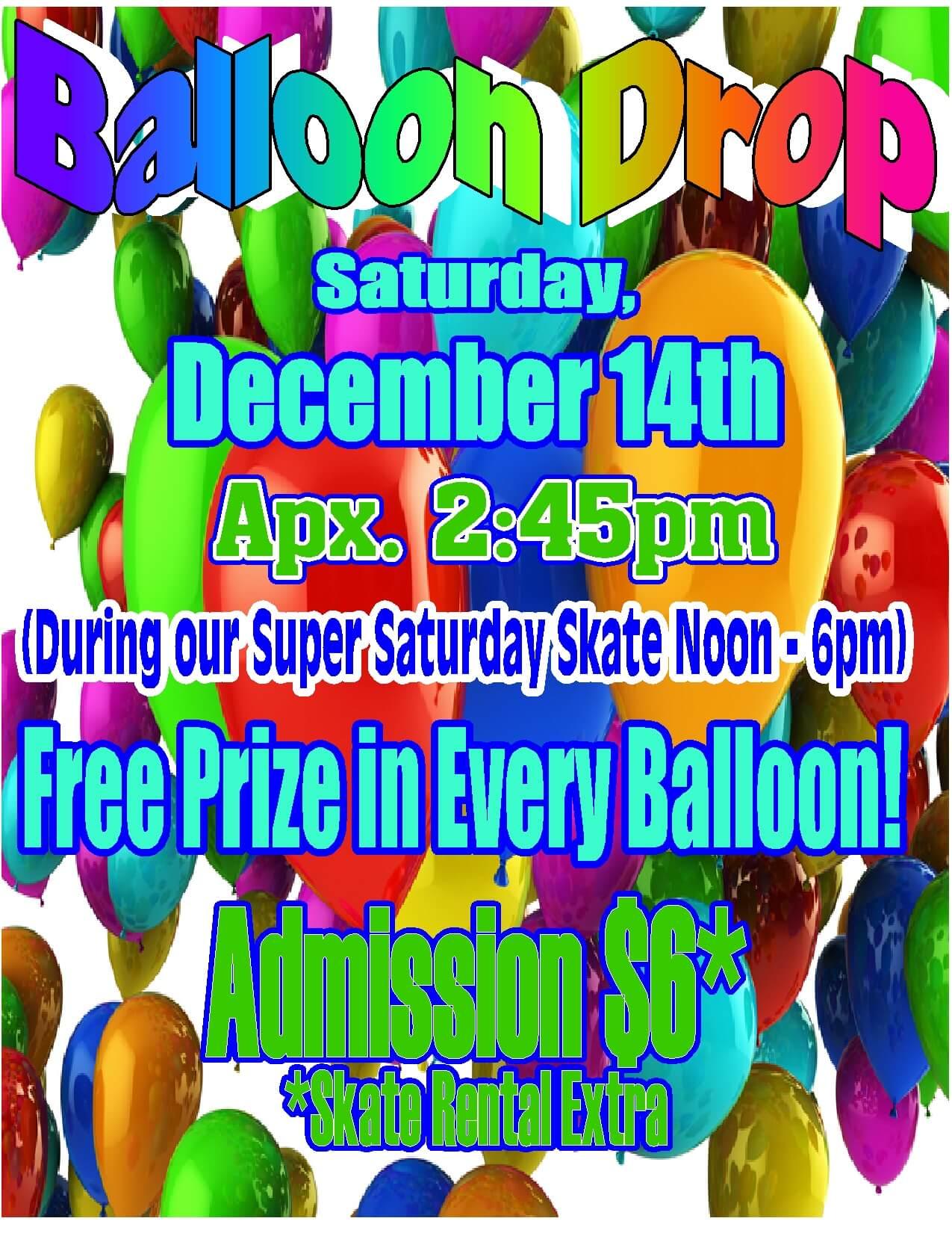 Balloon Drop Dec 2013