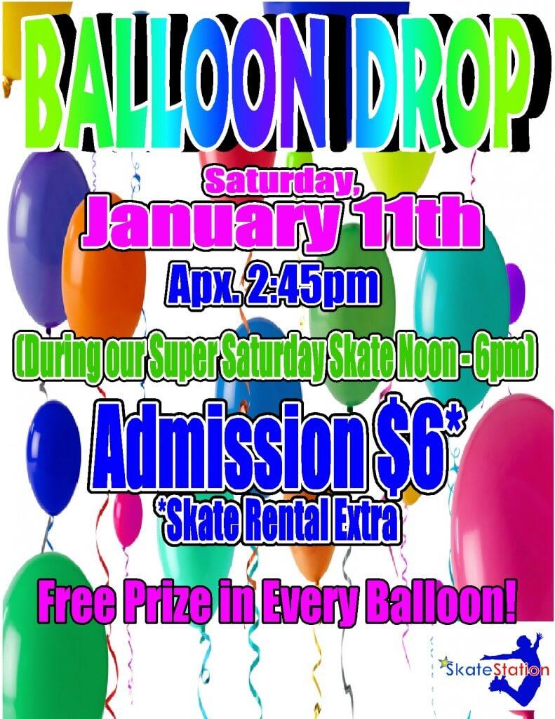 Balloon Drop Jan 2014