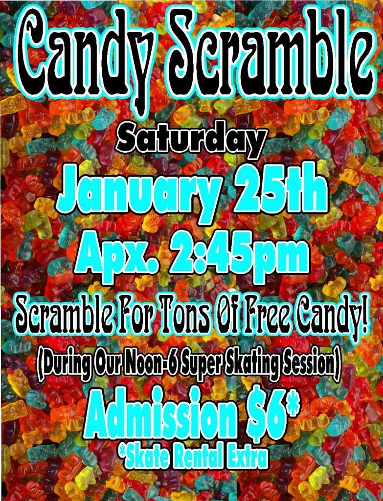 Candy Scramble Jan 2014