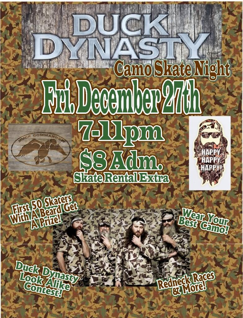 Ducky Dynasty Night Dec 2013