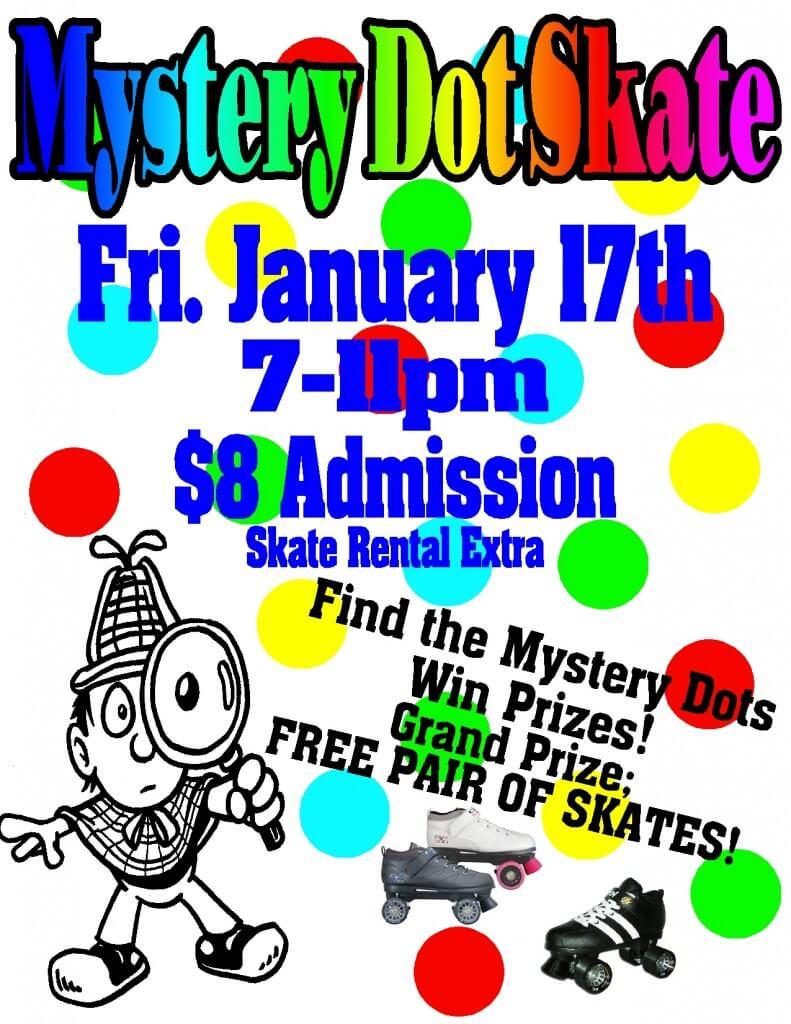 Mystery Dot Skate Jan 2014