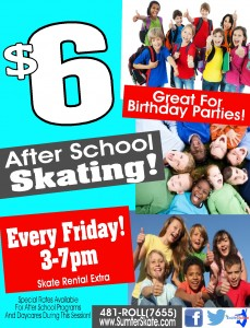 After School Skate Fridays website