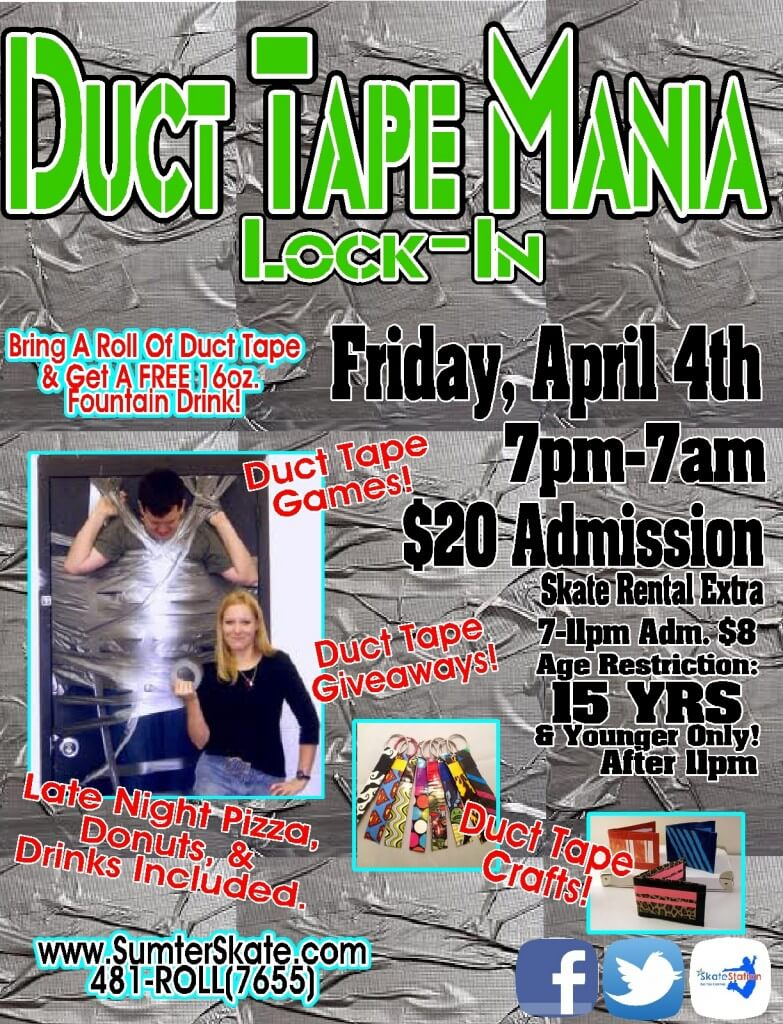 Duct Tape Lock In April 2014 website