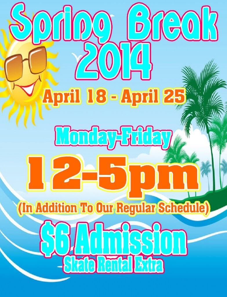 spring break website 2014