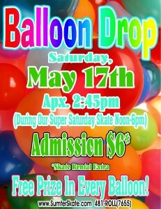 Balloon Drop May 2014