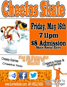 cheetos skate may 2014