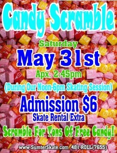 Candy Scramble may 31
