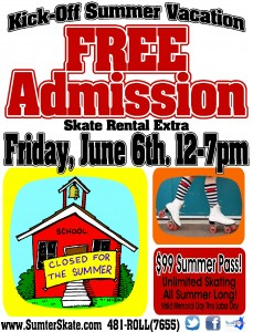 Free Admission Friday June 2014