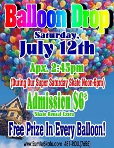 Balloon Drop July 2014