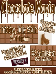 Chocolate mania July 2014