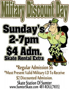 Military Discount Day