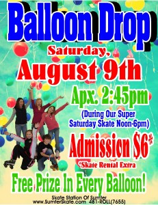 Balloon Drop August 2014