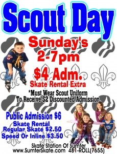 Scout Day Sundays!