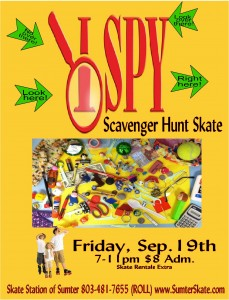I Spy Scavenger Hunt Skate Sep