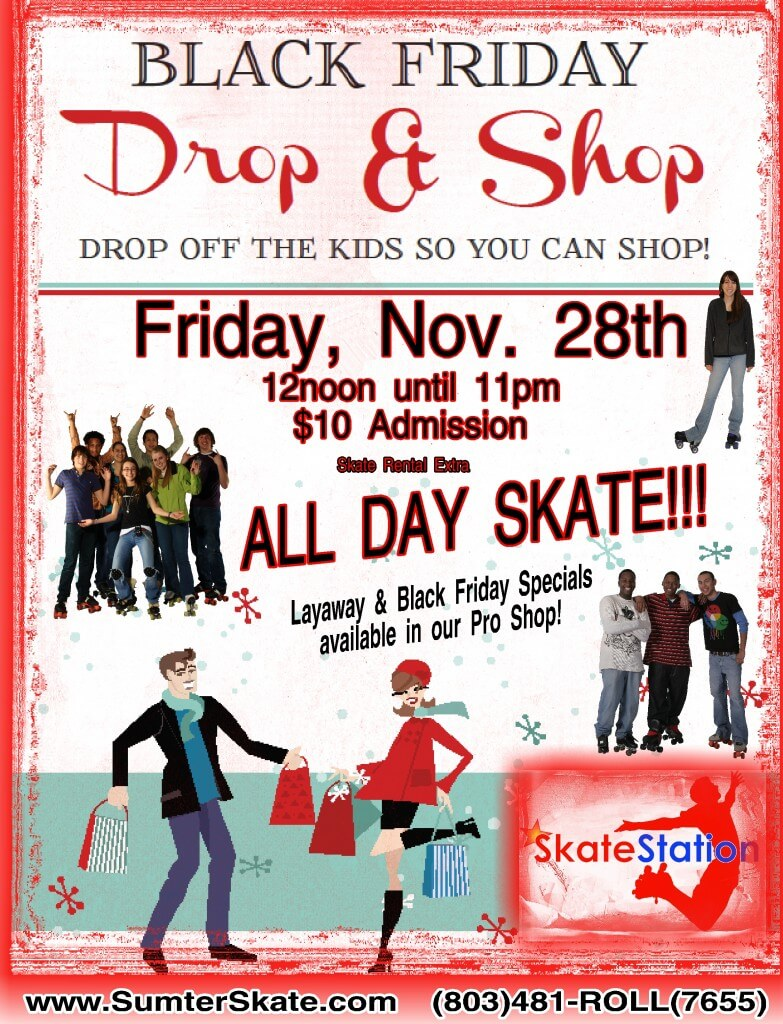 Black Friday Drop and Shop Nov 2014