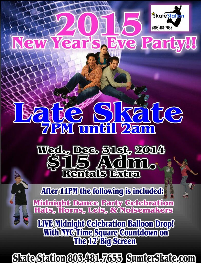 new Years 2015 Late Skate