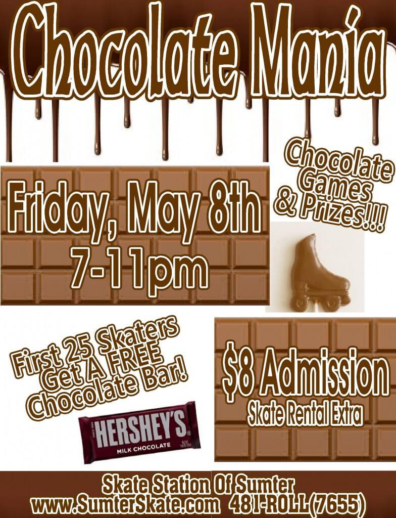 Chocolate mania May 2015