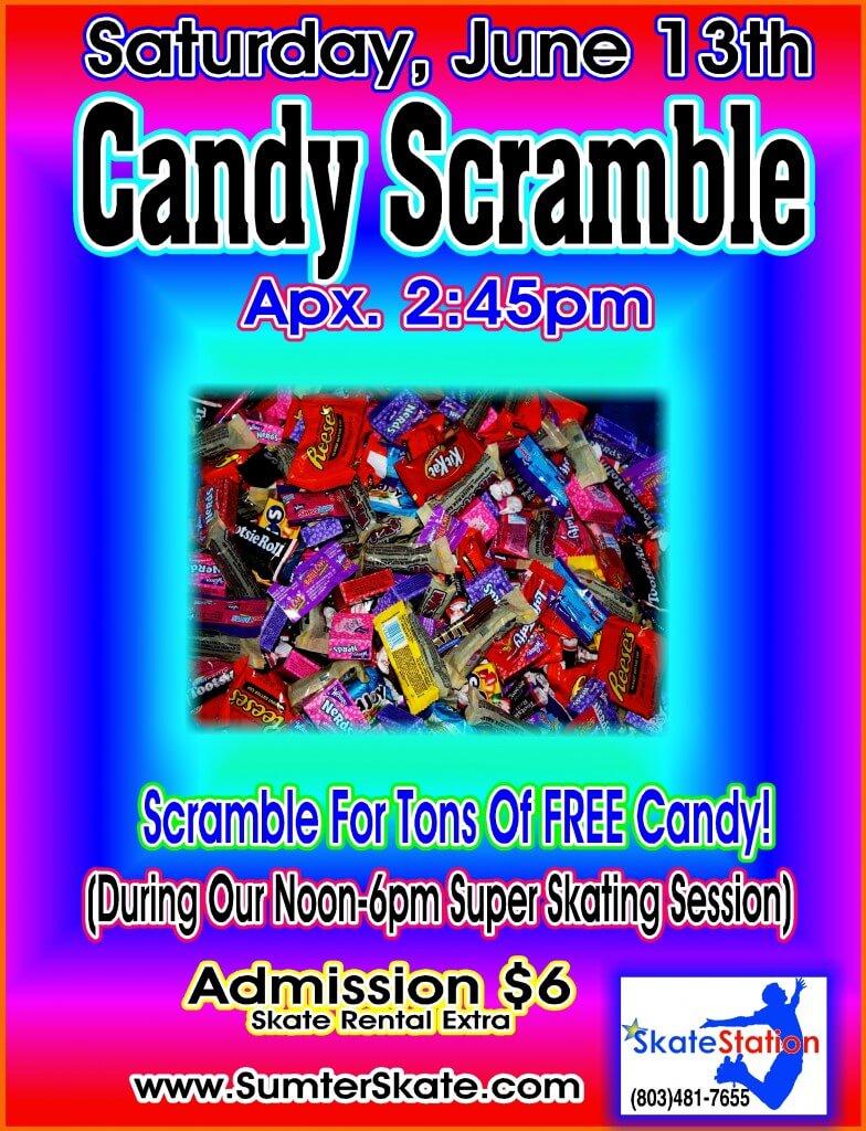 candy scramble June 2015