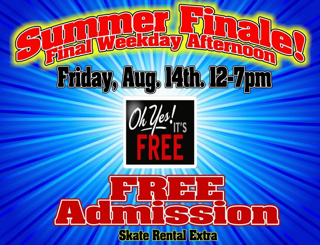 Free Admission Aug 2015 Summer Finale