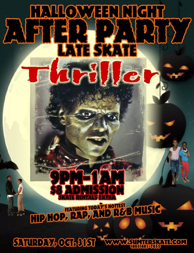Halloween After Party Late Skate 2015