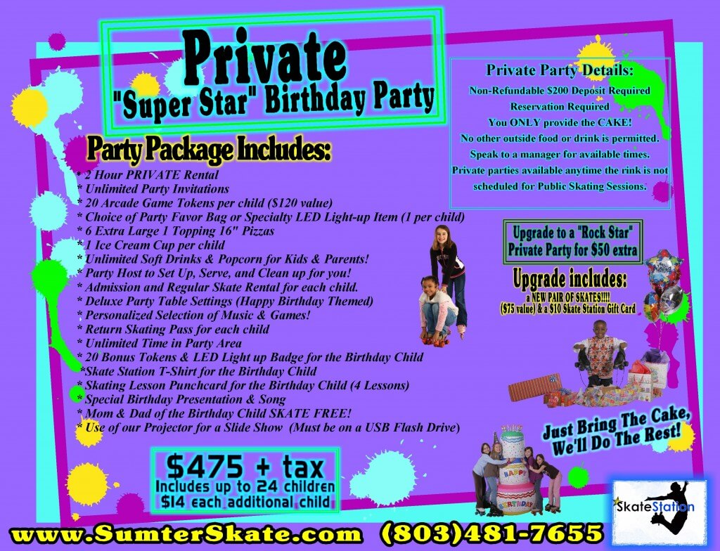 Private Birthday Flyer Nov 2014