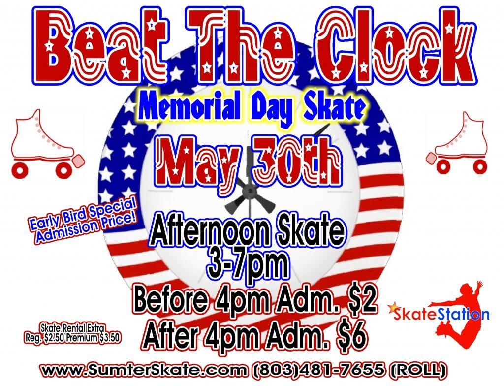 Beat the clock memorial day big 2016