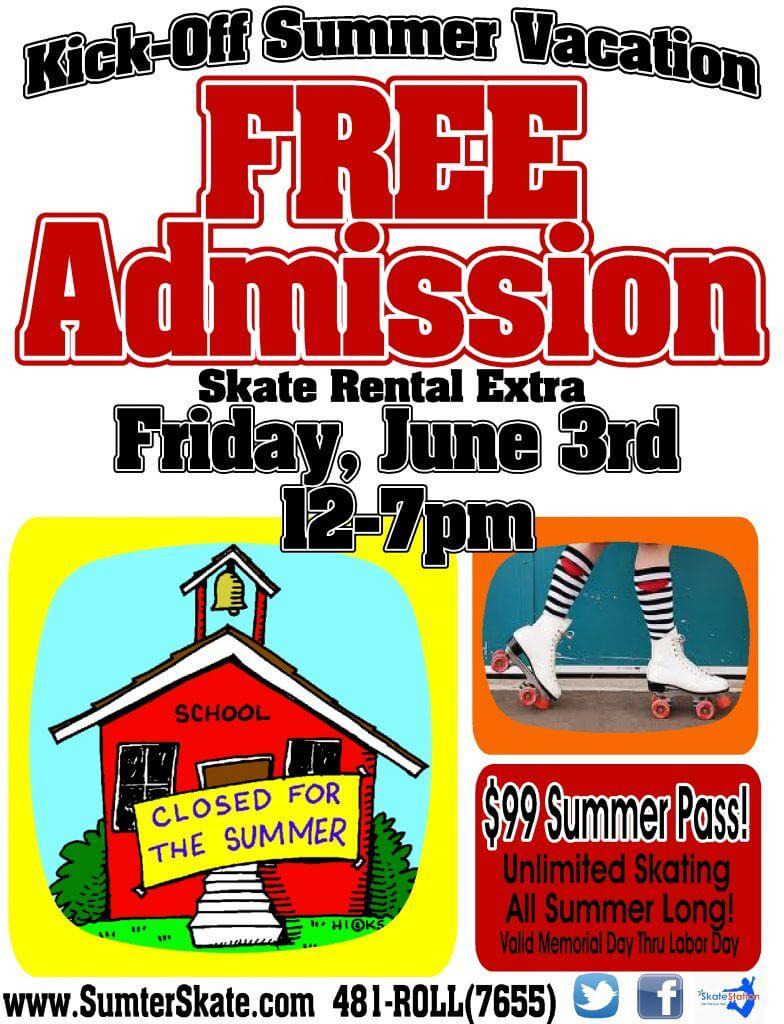 Free Admission Friday June2016 Summer Kickoff