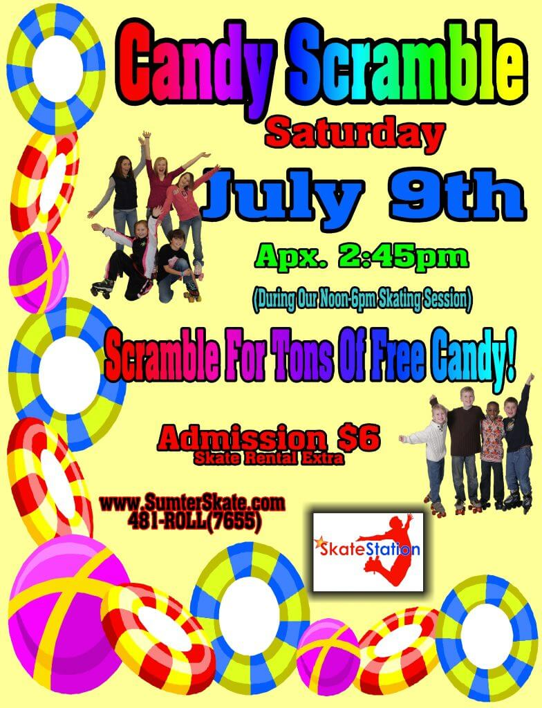 Candy Scramble July 2016