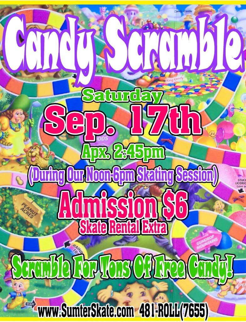 Candy Scramble SEP 2016
