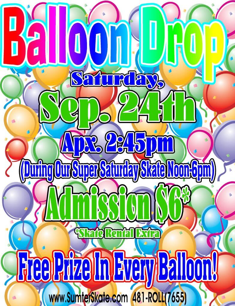 balloon drop Sep 2016