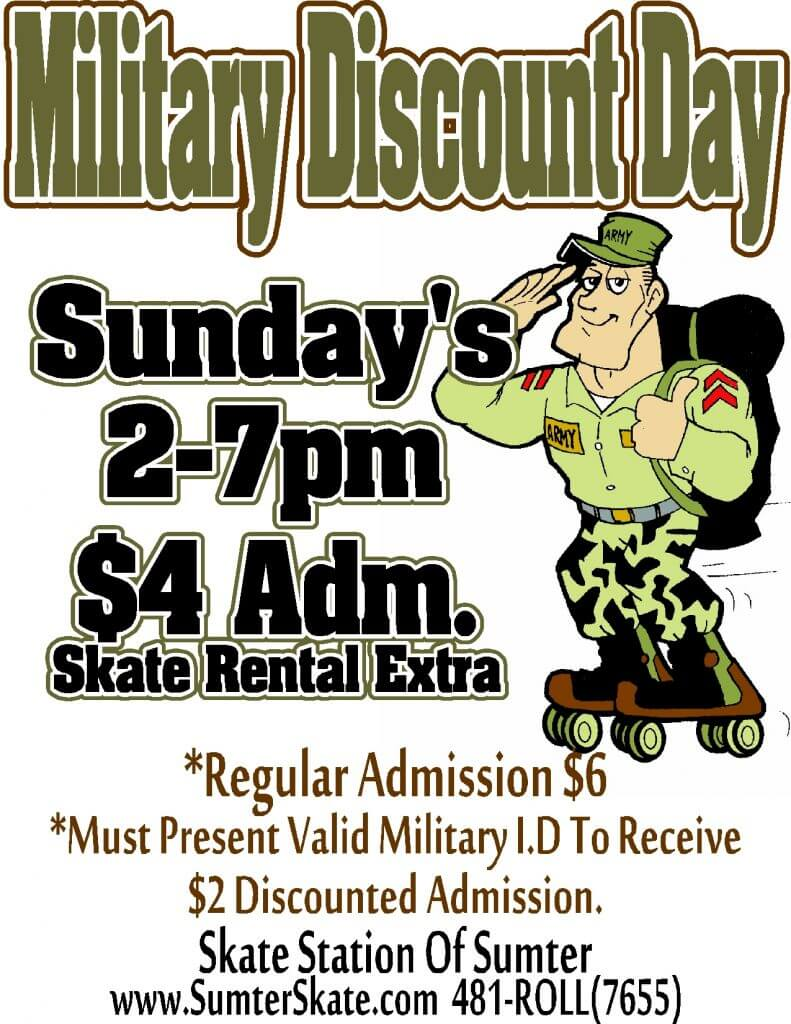 military-discount-day