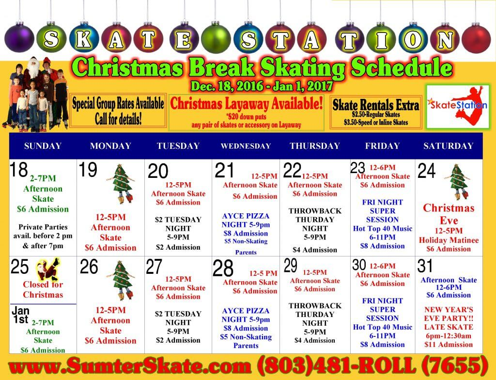 christmas-break-2016-calendar
