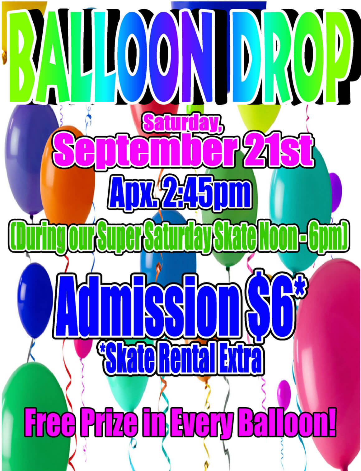 Balloon Drop Sept 2013