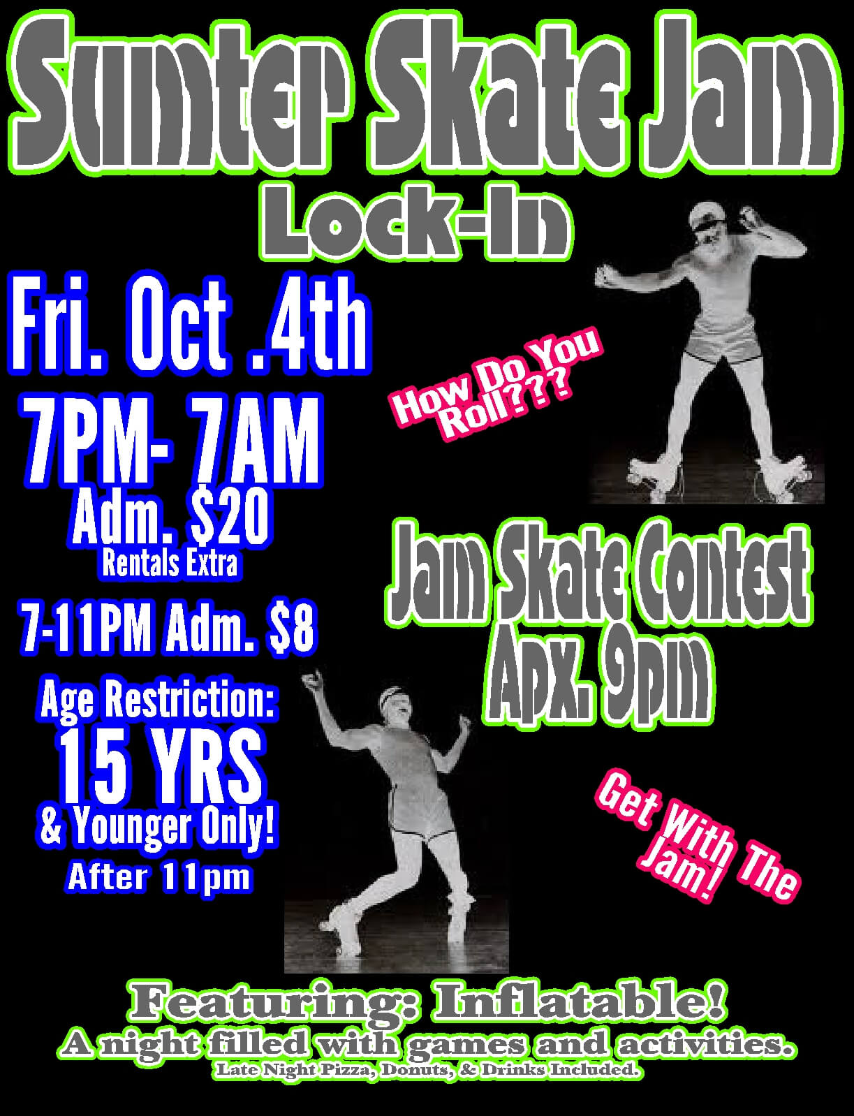 Oct lock in 2013 Jam skate