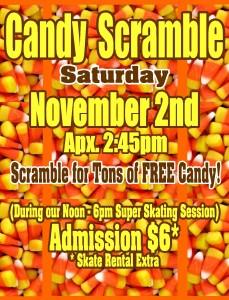 Candy Scramble Nov 2013