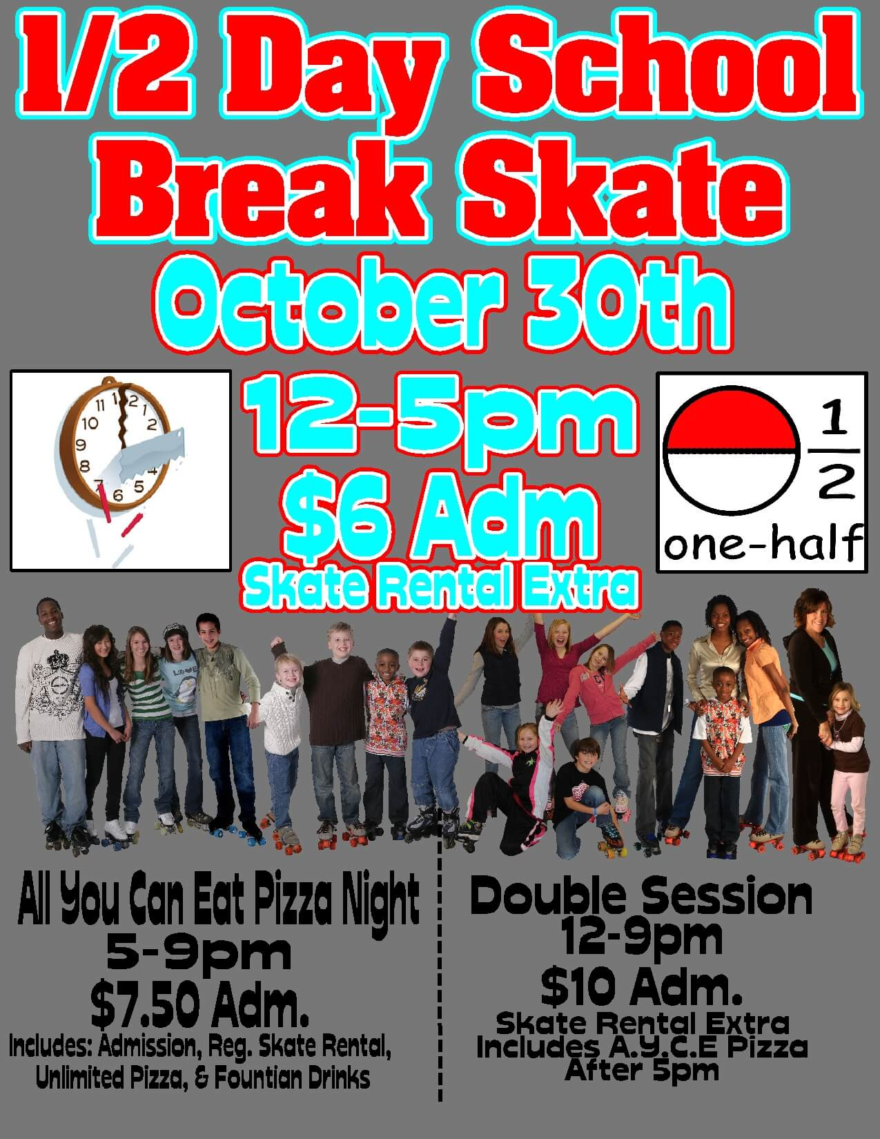 Sumter half day skate