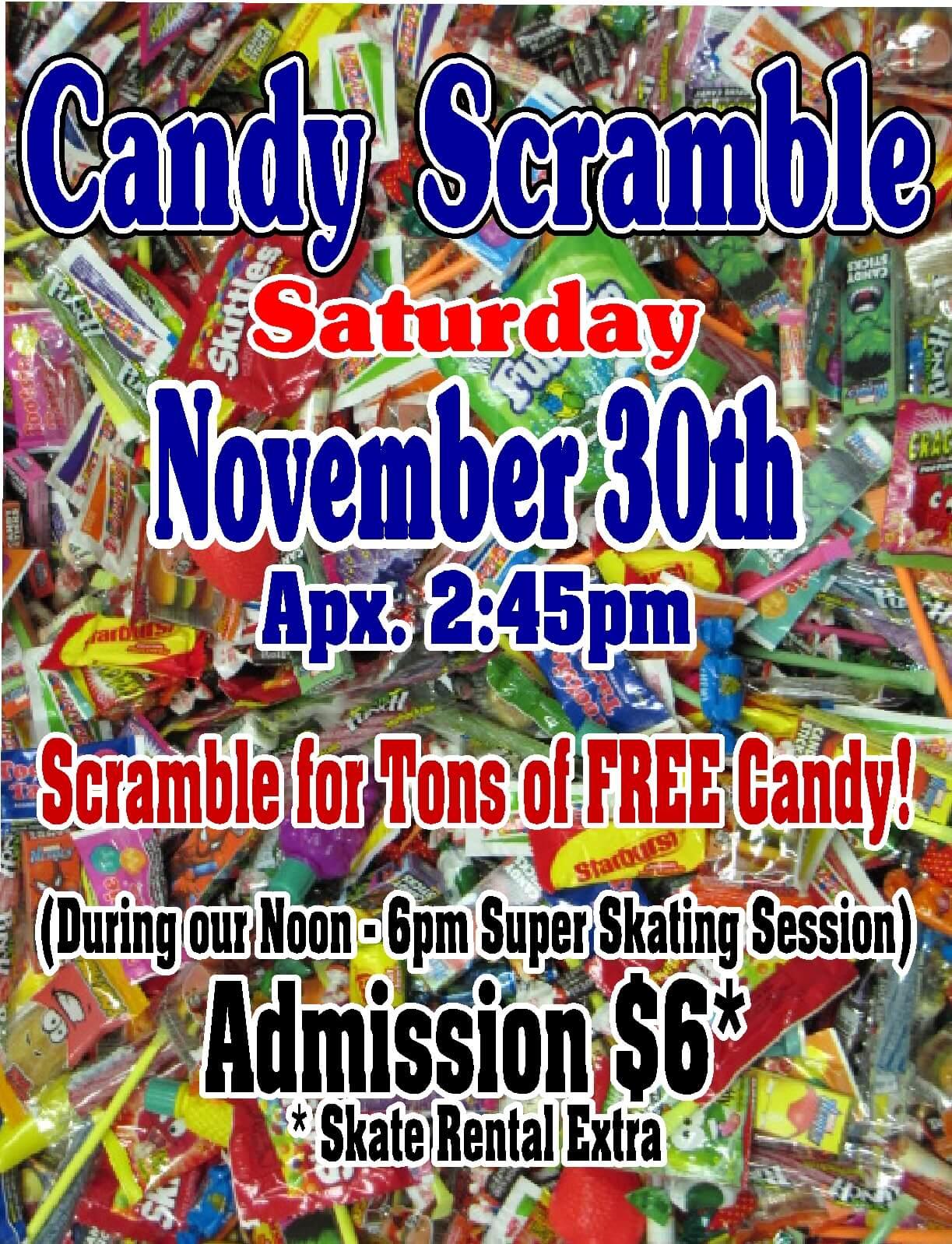 candy scramble Nov 30 2013