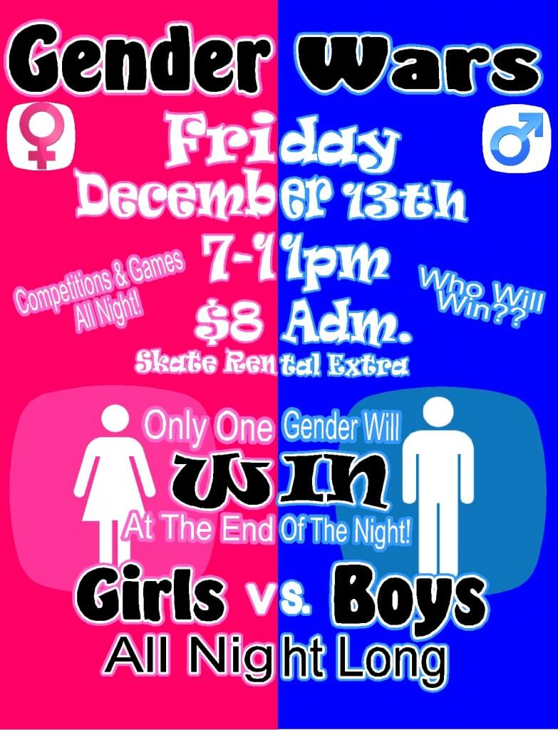 Gender Wars Dec 2013
