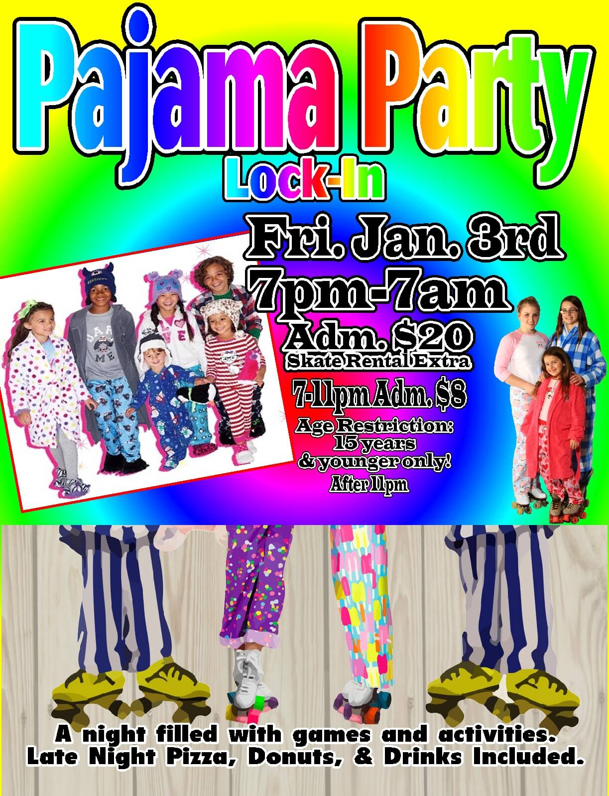 Jan 2014 lock in pj party