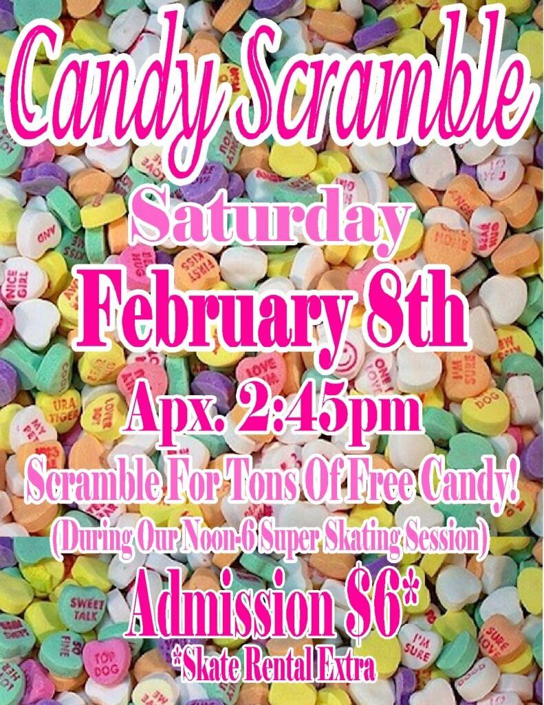 Candy Scramble Feb 2014