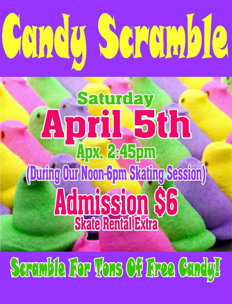 Candy Scramble April 2014 website