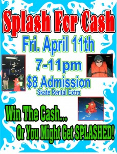 Splash For Cash April 2014