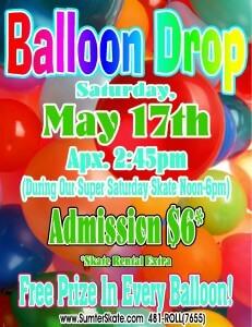 Balloon Drop May 2014